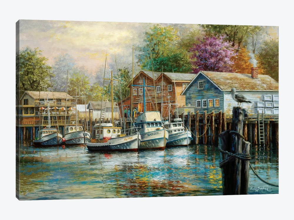 The Lone Sentinel by Nicky Boehme 1-piece Art Print