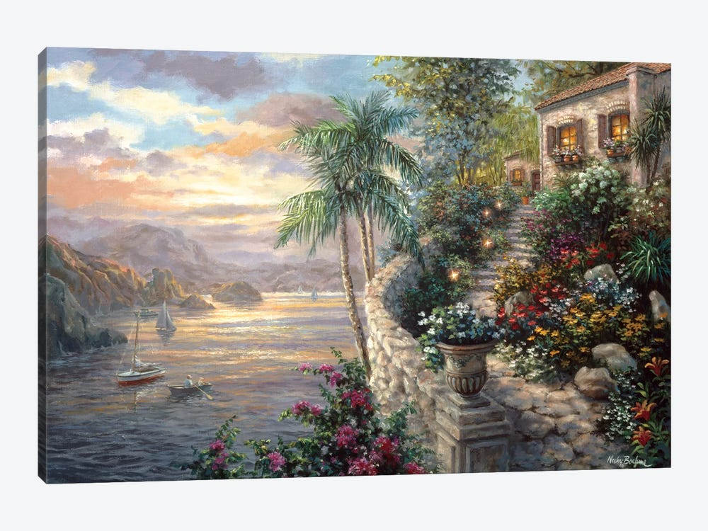 Tranquil Sea by Nicky Boehme 1-piece Canvas Art Print