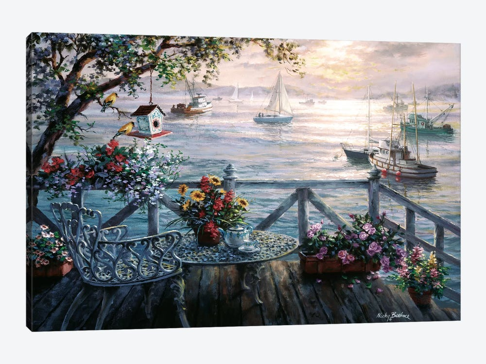 Treasures Of The Sea by Nicky Boehme 1-piece Canvas Wall Art