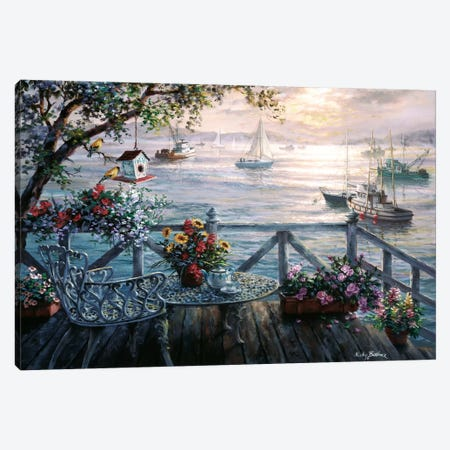 Treasures Of The Sea Canvas Print #BOE160} by Nicky Boehme Canvas Artwork