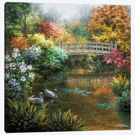 Treasury Of Splendor Canvas Print #BOE161} by Nicky Boehme Canvas Artwork