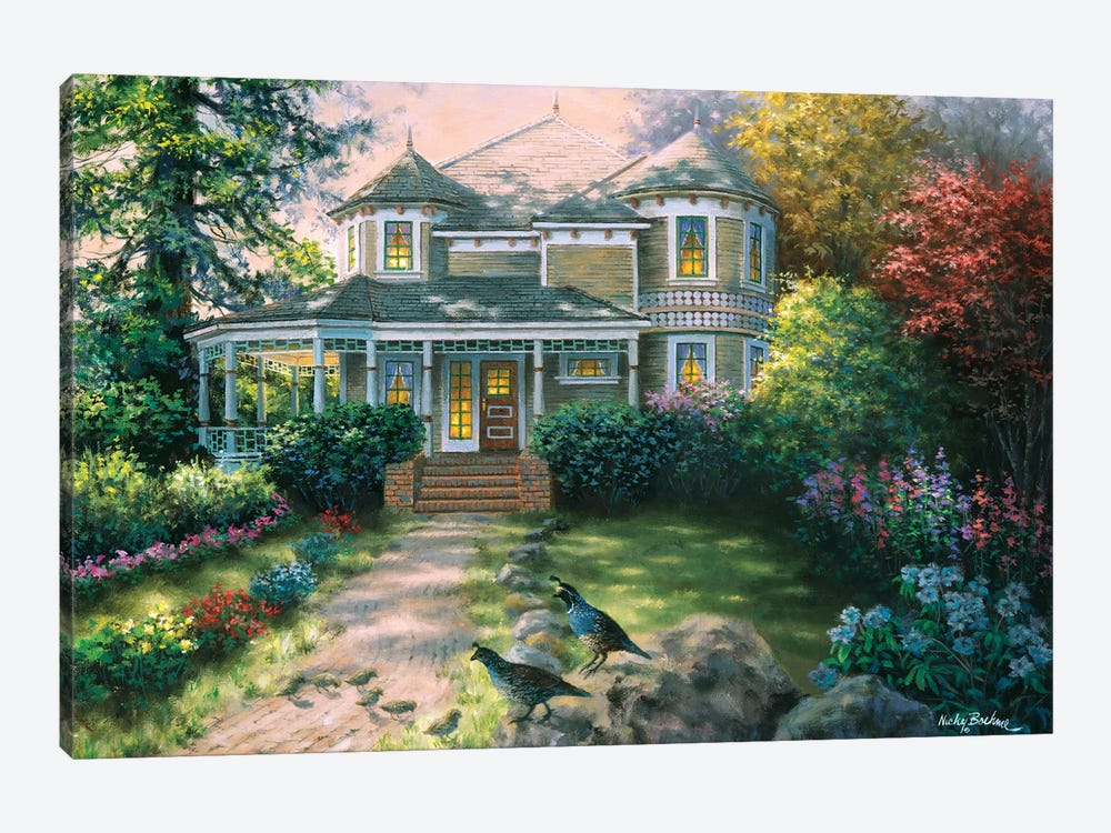 Victorian Interlude by Nicky Boehme 1-piece Canvas Artwork