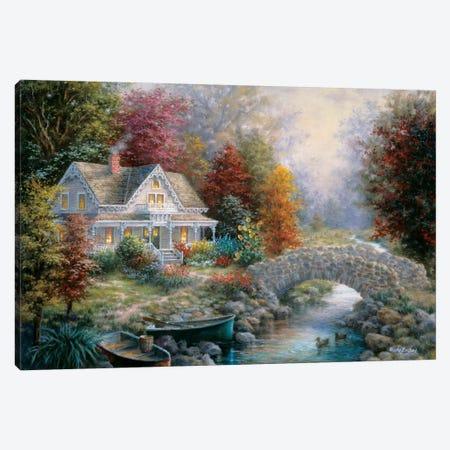 Victorian Splendor Canvas Print #BOE163} by Nicky Boehme Canvas Art