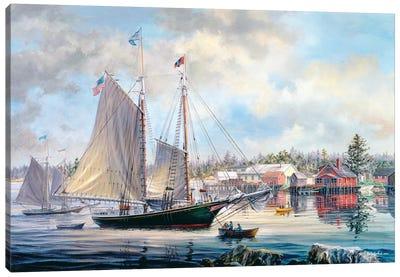 Voyage Preparation Canvas Print #BOE164