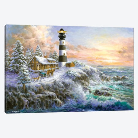 Winter Majesty Canvas Print #BOE169} by Nicky Boehme Canvas Wall Art