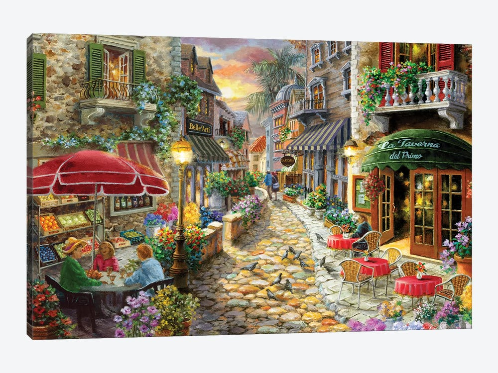 Early Evening In Avola by Nicky Boehme 1-piece Canvas Wall Art