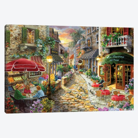 Early Evening In Avola Canvas Print #BOE179} by Nicky Boehme Canvas Print