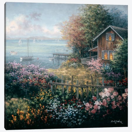 Bay's Domain Canvas Print #BOE17} by Nicky Boehme Canvas Wall Art