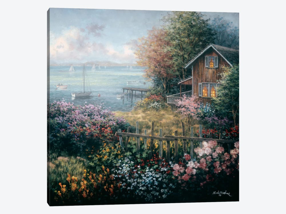 Bay's Domain by Nicky Boehme 1-piece Canvas Art Print