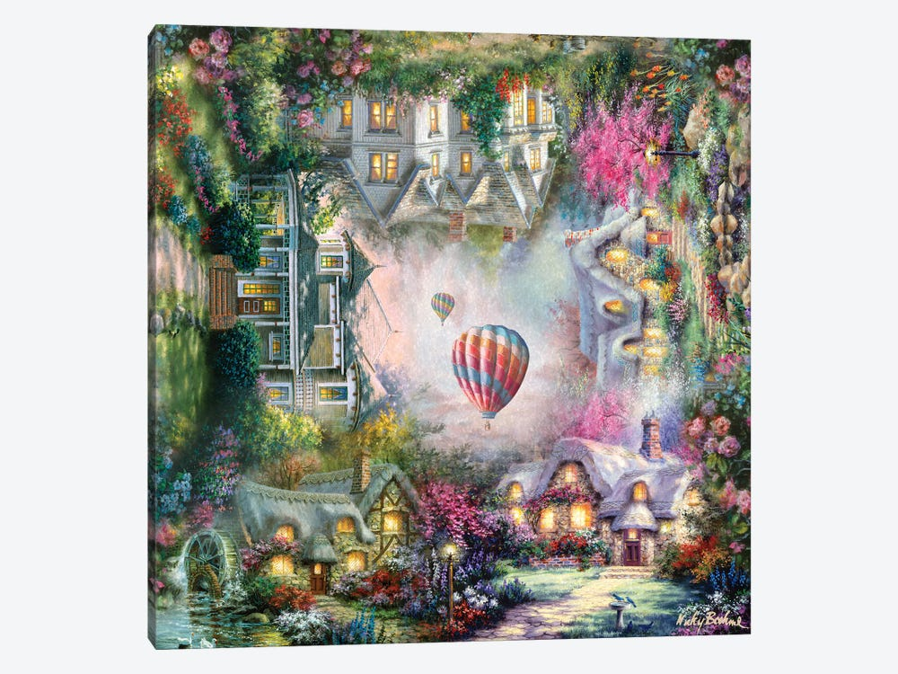 Home by Nicky Boehme 1-piece Canvas Artwork