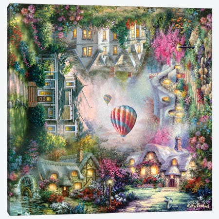 Home Canvas Print #BOE182} by Nicky Boehme Canvas Art