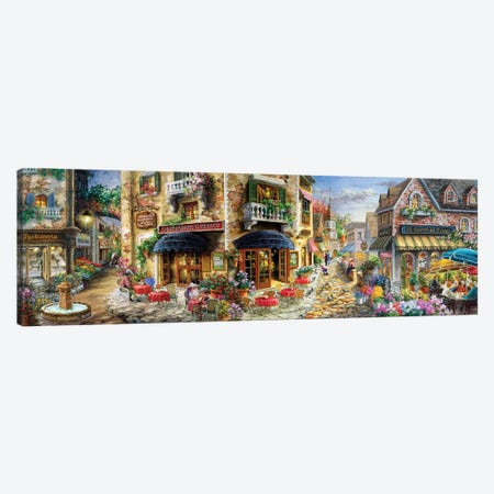 Late Afternoon In Italy Canvas Print #BOE183} by Nicky Boehme Canvas Art