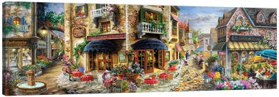 Late Afternoon In Italy Canvas Art Print