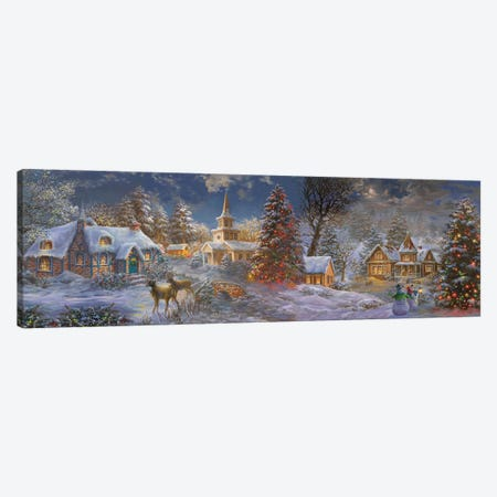 Stillness Of Christmas Canvas Print #BOE186} by Nicky Boehme Canvas Art Print