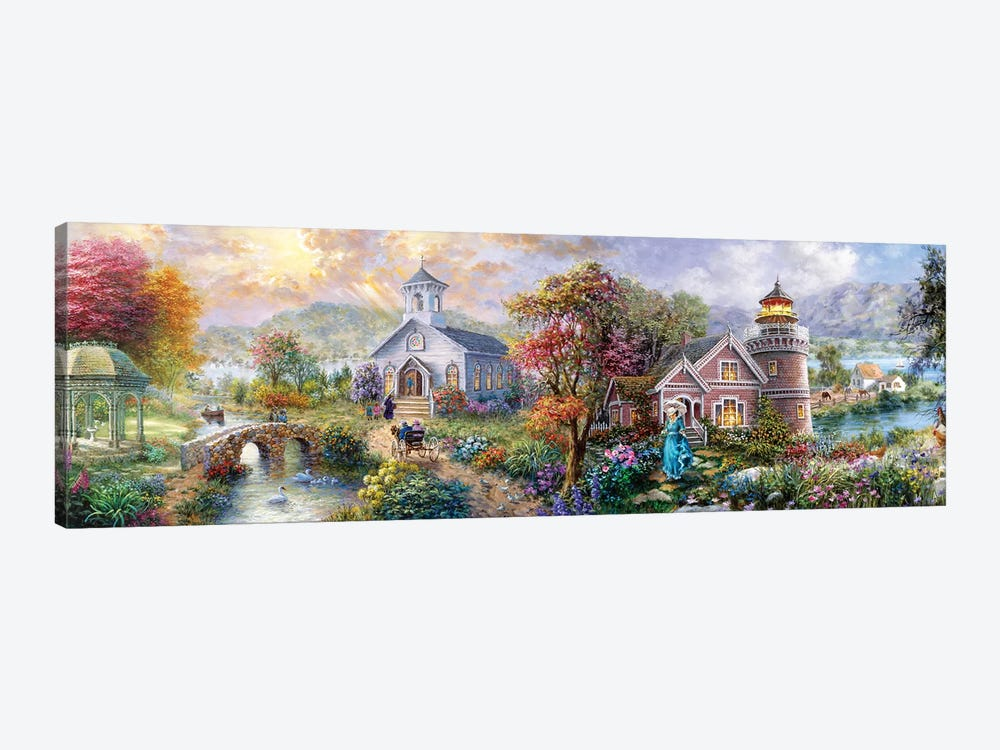 Sunday Morning In Spring by Nicky Boehme 1-piece Canvas Print