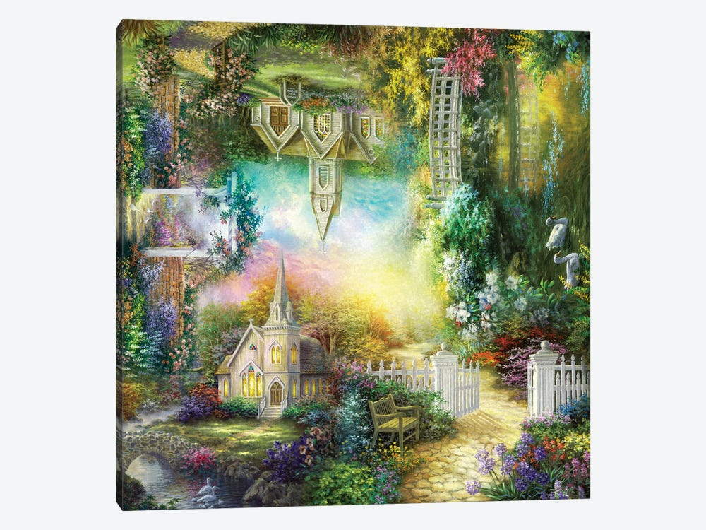 Take Me To Church by Nicky Boehme 1-piece Canvas Artwork