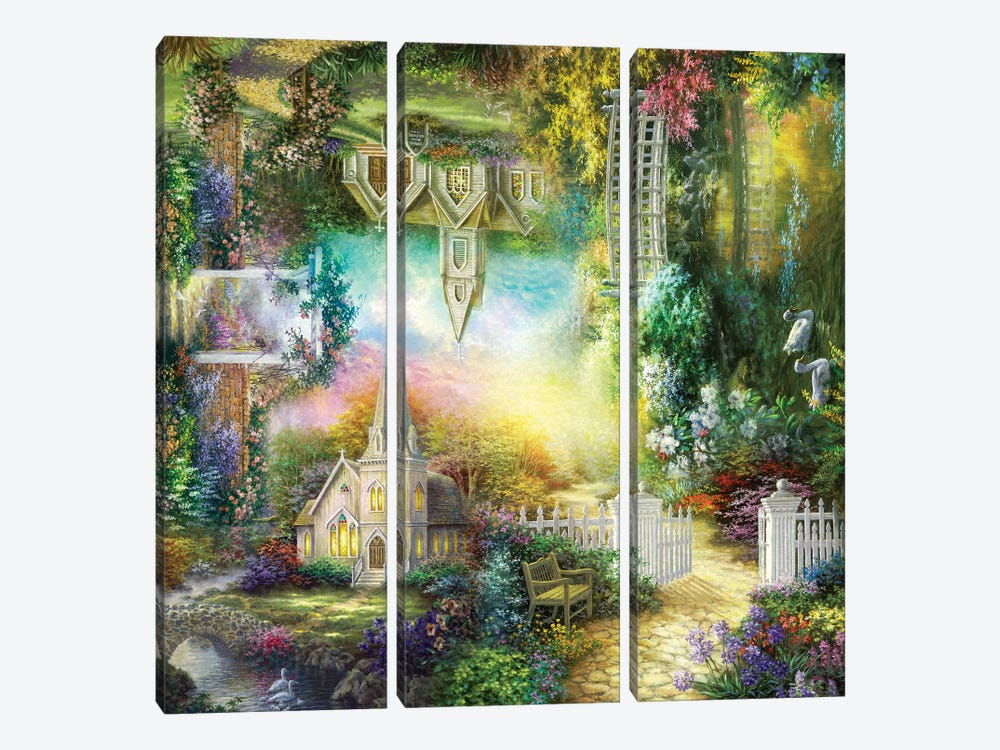Take Me To Church by Nicky Boehme 3-piece Canvas Art