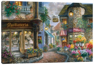 Bello Piazza Canvas Art Print