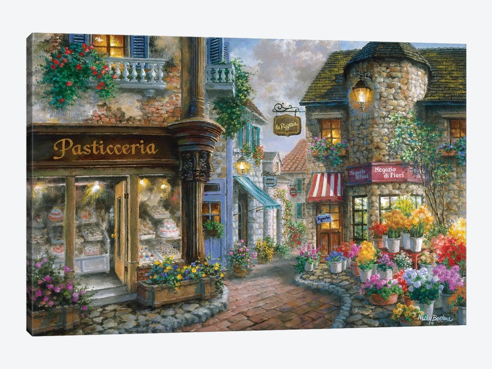 Bello Piazza by Nicky Boehme 1-piece Art Print