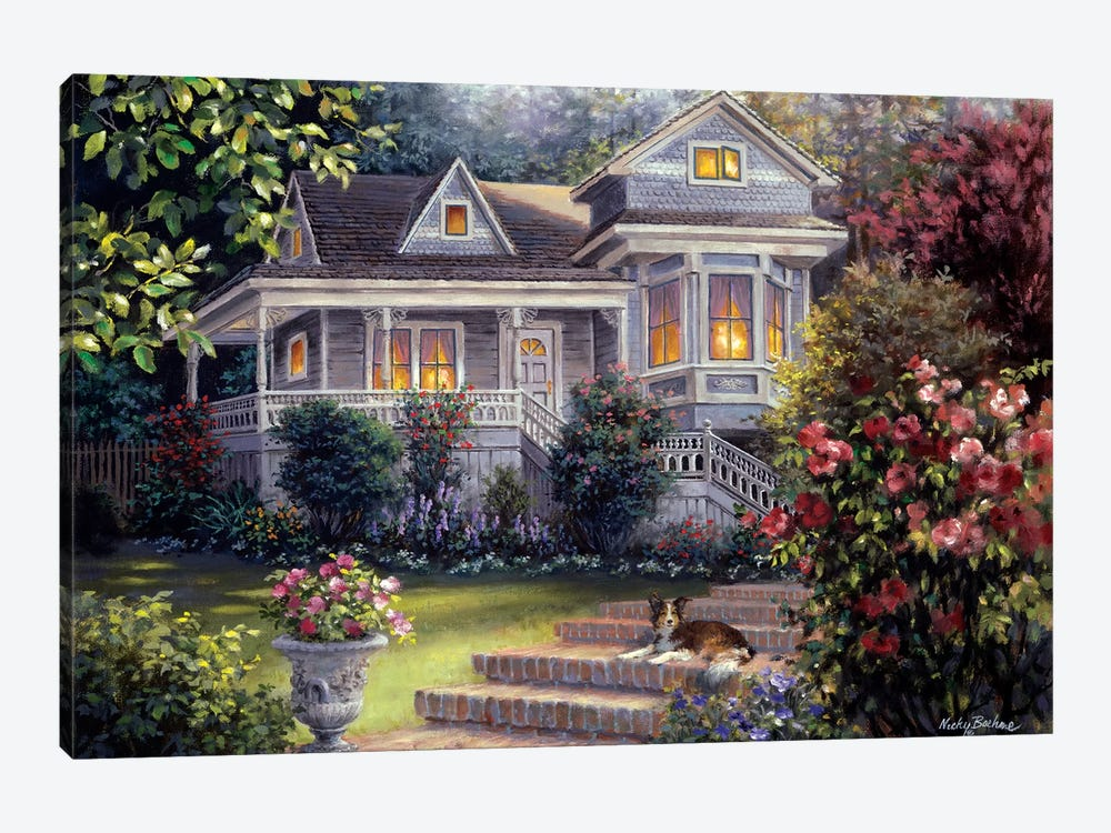 A Canine Sanctuary by Nicky Boehme 1-piece Canvas Print