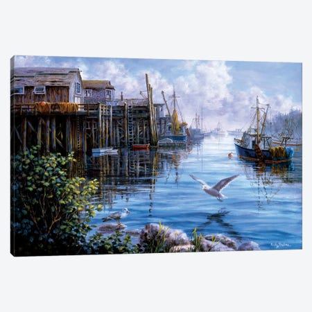 Bird Eye View Canvas Print #BOE20} by Nicky Boehme Canvas Artwork