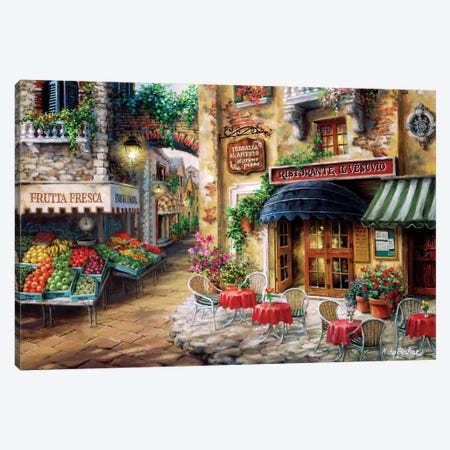 Buon Appetito Canvas Print #BOE22} by Nicky Boehme Canvas Art