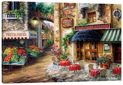 Buon Appetito Canvas Art Print