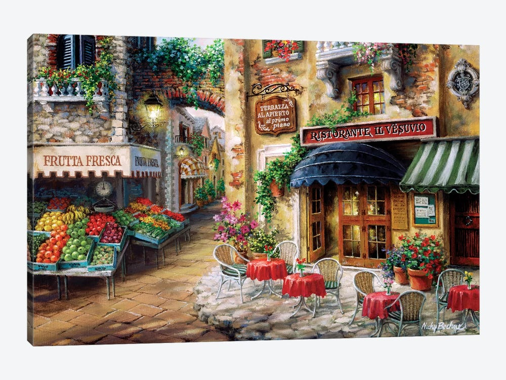 Buon Appetito by Nicky Boehme 1-piece Canvas Print