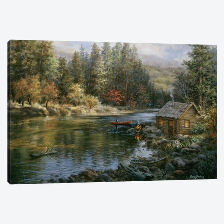 Campers Haven Canvas Print #BOE24} by Nicky Boehme Art Print