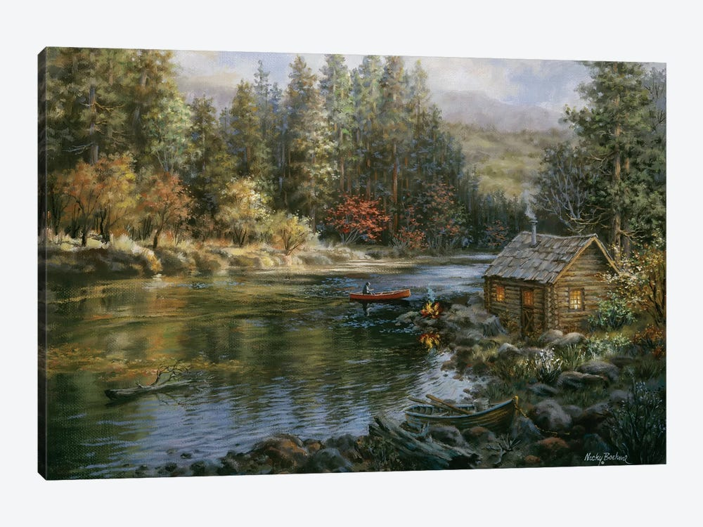 Campers Haven by Nicky Boehme 1-piece Canvas Print
