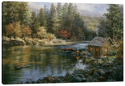 Campers Haven Canvas Art Print
