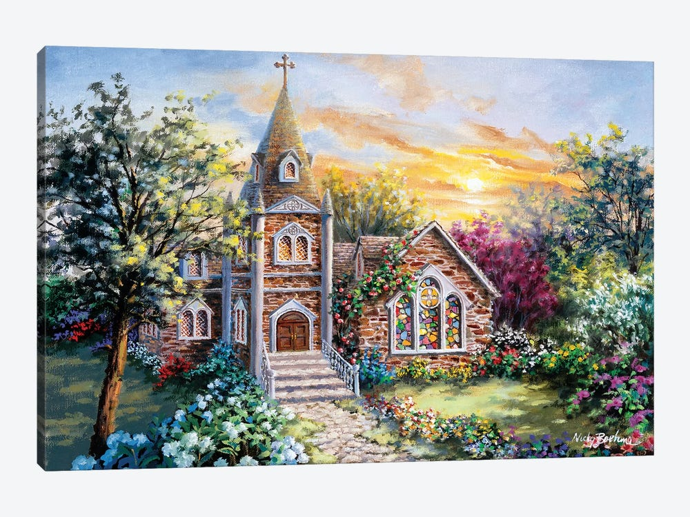 Charming Tranquility II by Nicky Boehme 1-piece Canvas Art