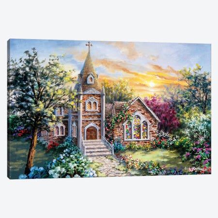 Charming Tranquility II Canvas Print #BOE27} by Nicky Boehme Art Print