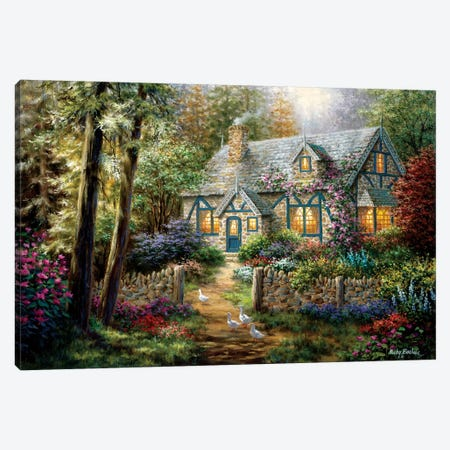 A Country Gem Canvas Print #BOE2} by Nicky Boehme Canvas Wall Art