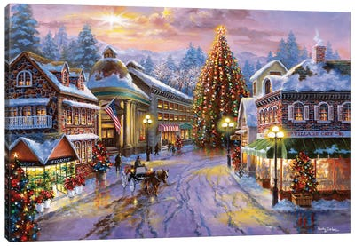 Christmas Eve Canvas Art Print