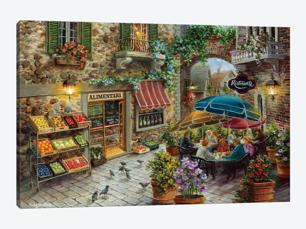 Contentment by Nicky Boehme 1-piece Canvas Artwork
