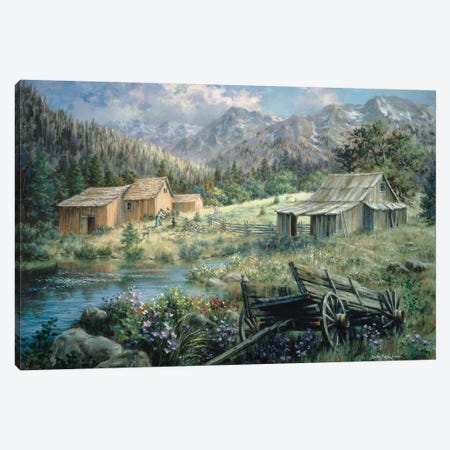 Country Canvas Print #BOE38} by Nicky Boehme Canvas Art Print