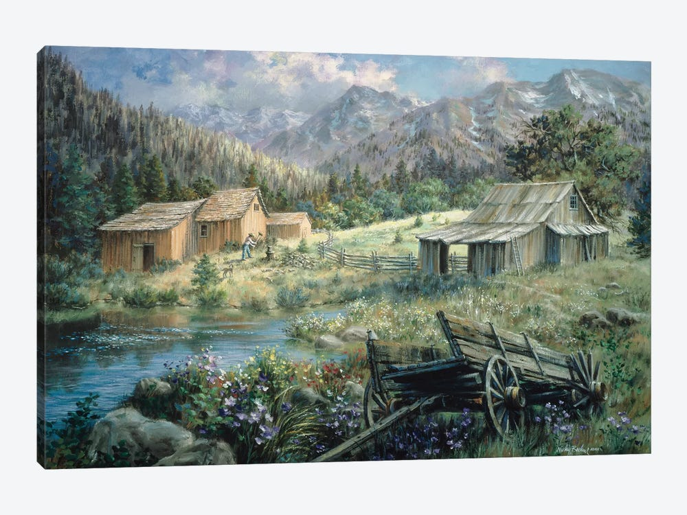 Country by Nicky Boehme 1-piece Canvas Art