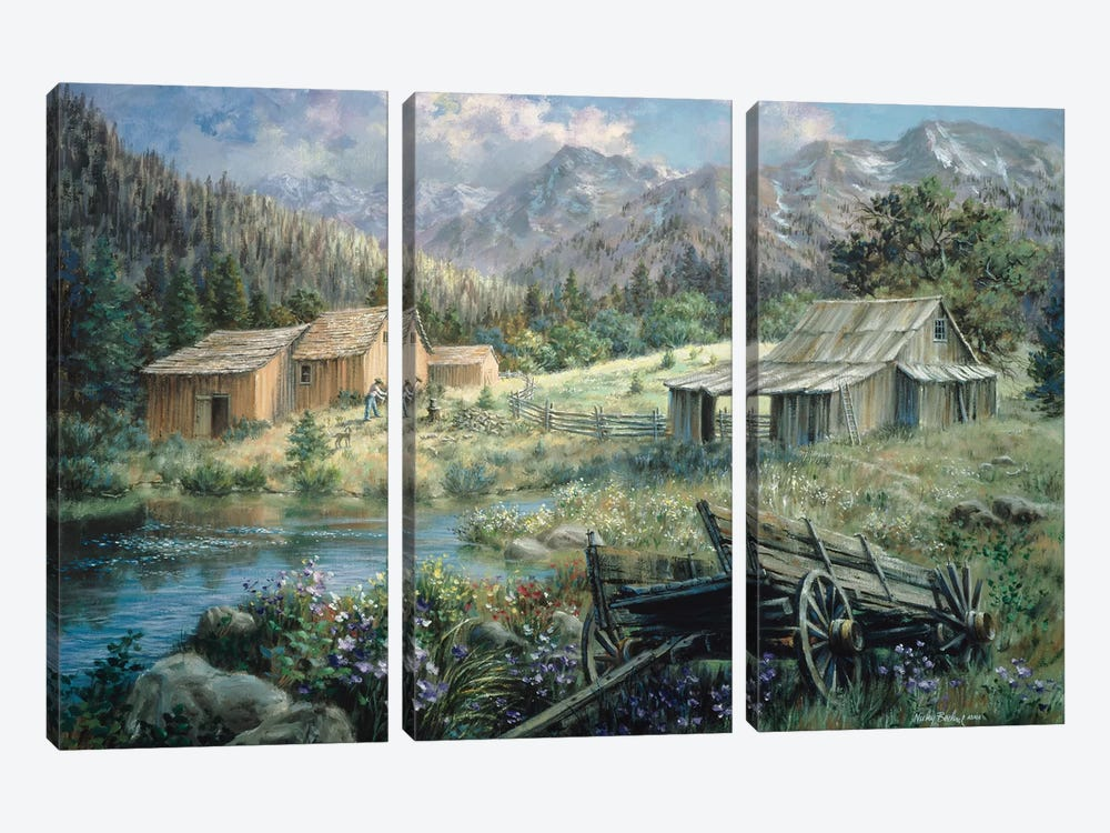 Country by Nicky Boehme 3-piece Canvas Artwork