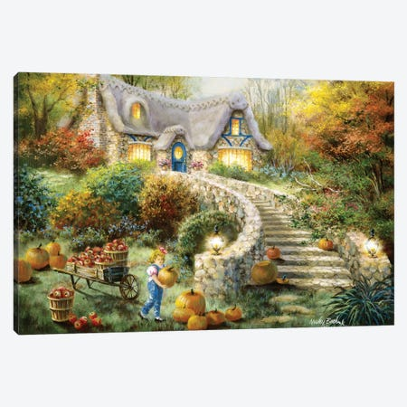 Country Harvest Canvas Print #BOE41} by Nicky Boehme Canvas Art