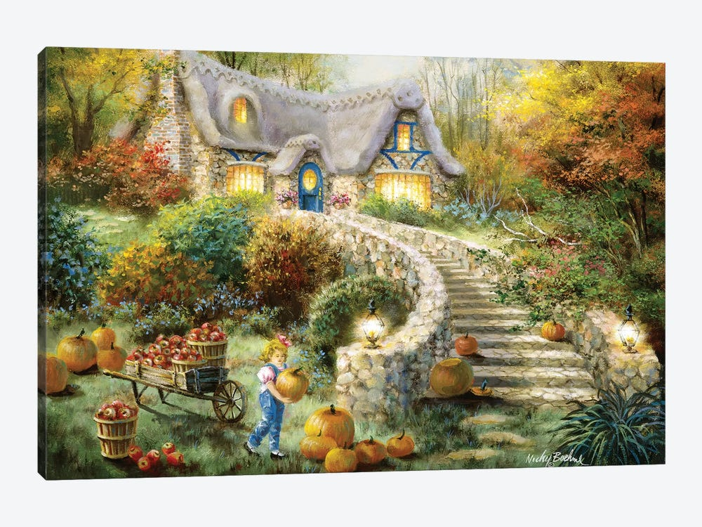 Country Harvest by Nicky Boehme 1-piece Canvas Artwork