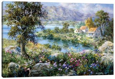 Enchanted Cottage Canvas Print #BOE53