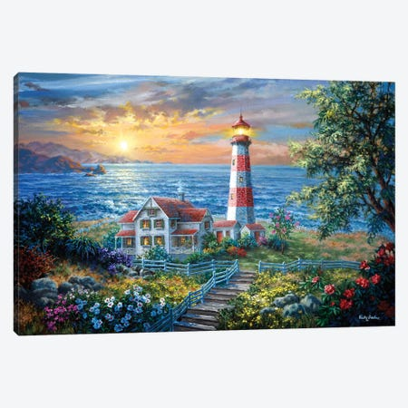 Enchantment Canvas Print #BOE54} by Nicky Boehme Canvas Artwork