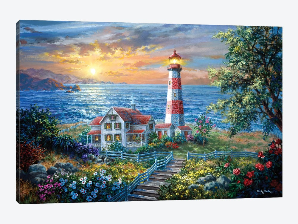 Enchantment by Nicky Boehme 1-piece Canvas Art