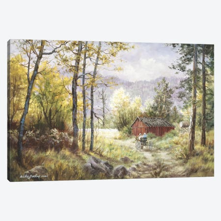 Friends Canvas Print #BOE59} by Nicky Boehme Canvas Art Print