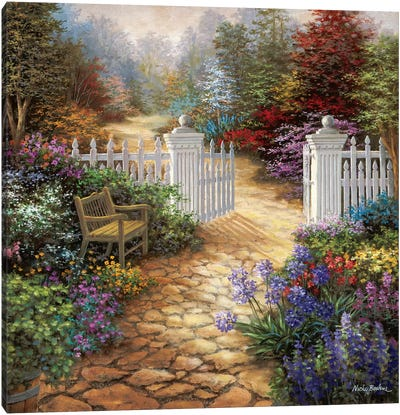 Gateway To Enchantment Canvas Print #BOE62