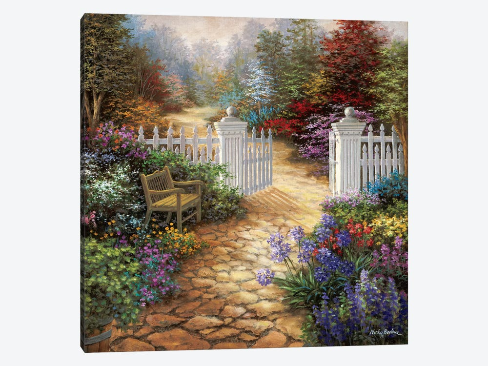 Gateway To Enchantment by Nicky Boehme 1-piece Art Print
