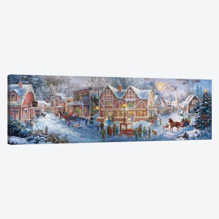Getting Ready For Christmas Canvas Print #BOE65} by Nicky Boehme Art Print