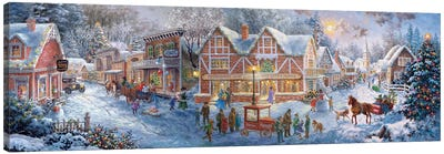 Getting Ready For Christmas Canvas Art Print