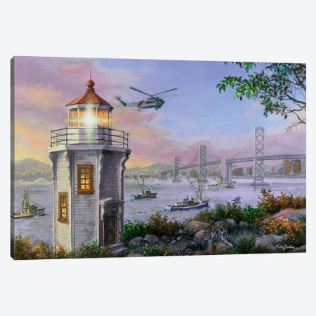 Golden Bliss Canvas Print #BOE66} by Nicky Boehme Canvas Art Print